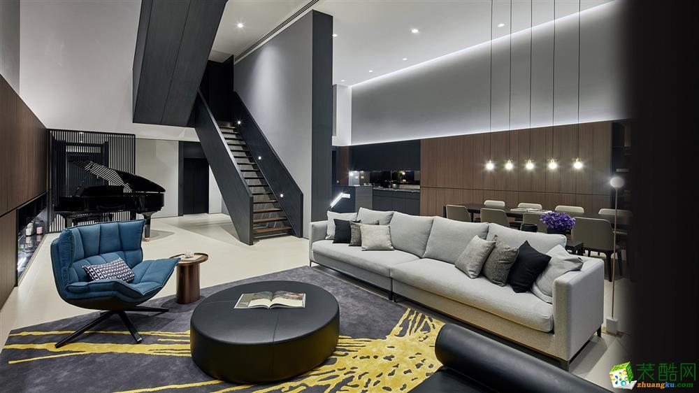 重慶278平米現代風格別墅裝修效果圖