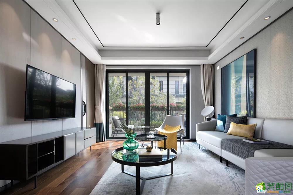 重庆145平米新中式风格四居室装修效果图