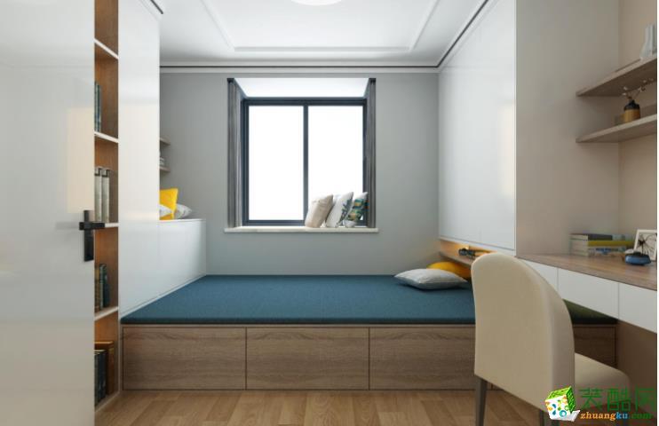 萬州78平兩室混搭清新風格裝修效果圖-覲麟裝飾