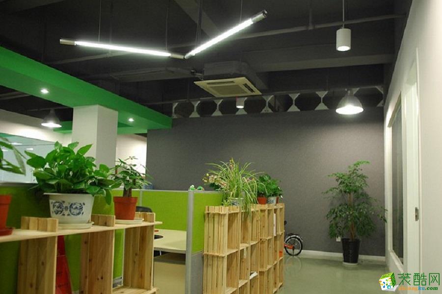 北京广告公司办公室装修案例