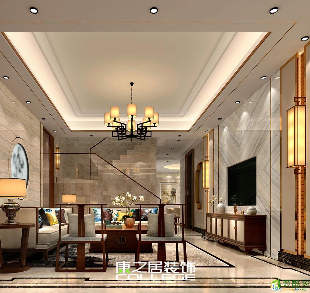 世茂大观170�O现代风格别墅装修案例