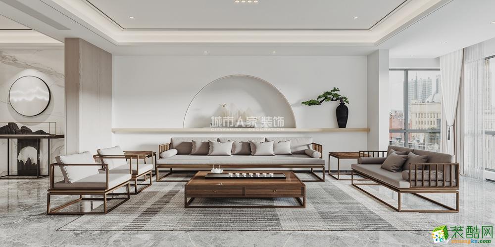 曲江香都170平米四居室品新中式的雅致