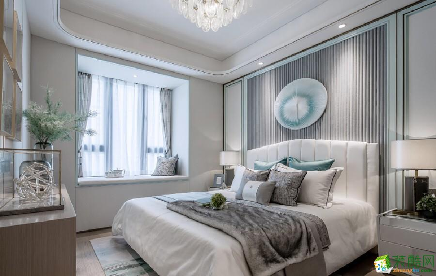 96㎡現代中式風格裝修,高貴典雅的住宅空間