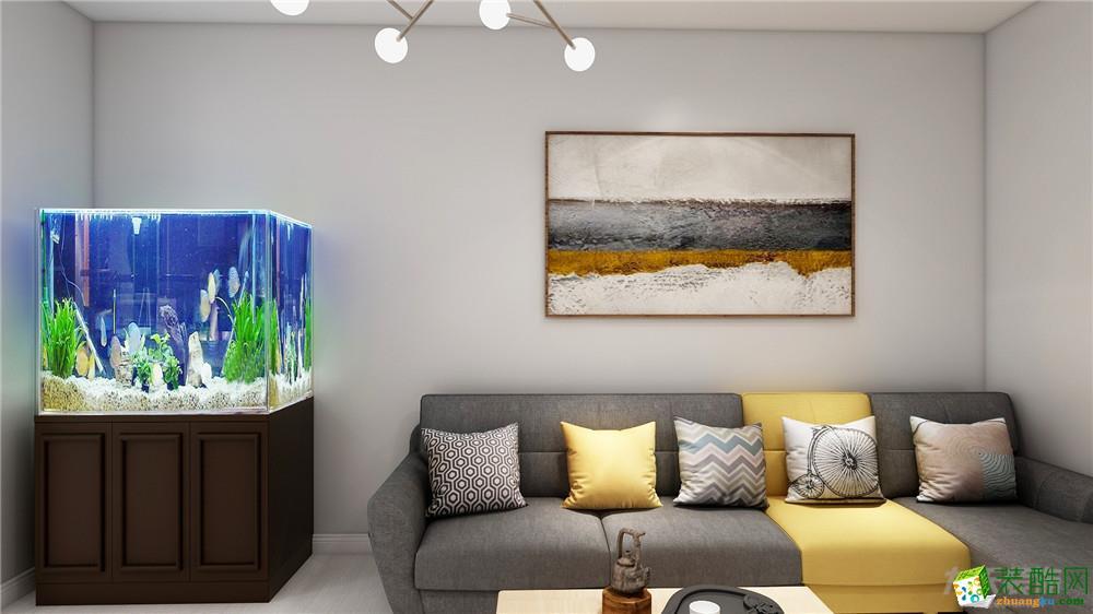 力天装饰 水竹家园 北欧风格