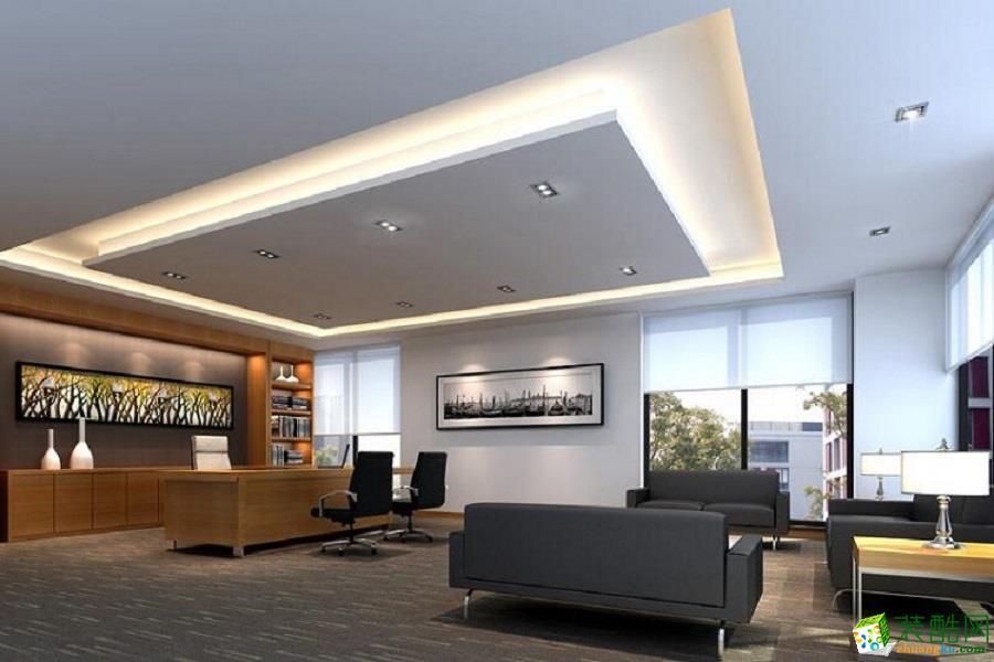 1120平米北京生物科技办公室装修案例
