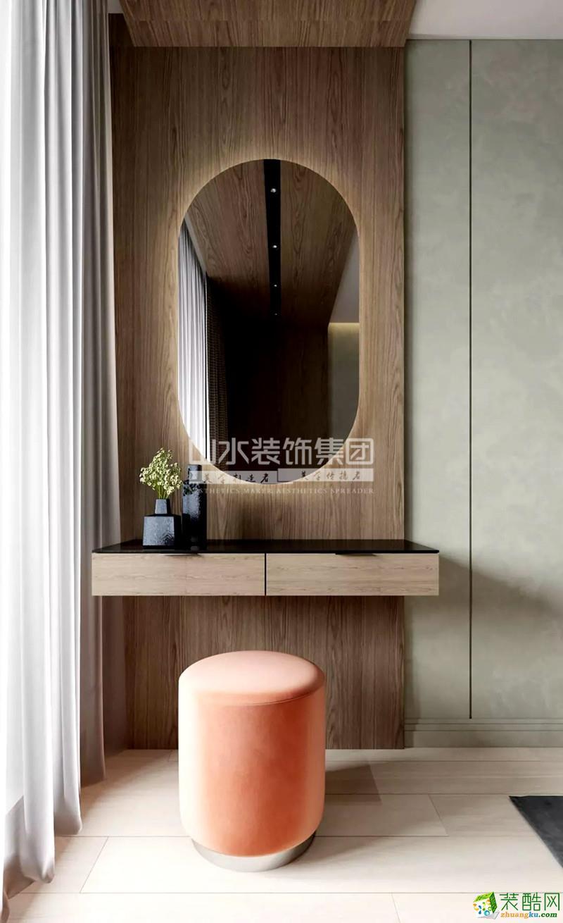 合肥120㎡現代風住宅,時尚色彩太驚艷了吧!
