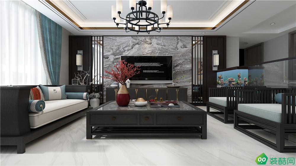 雅静园180平米中式风格装修效果图