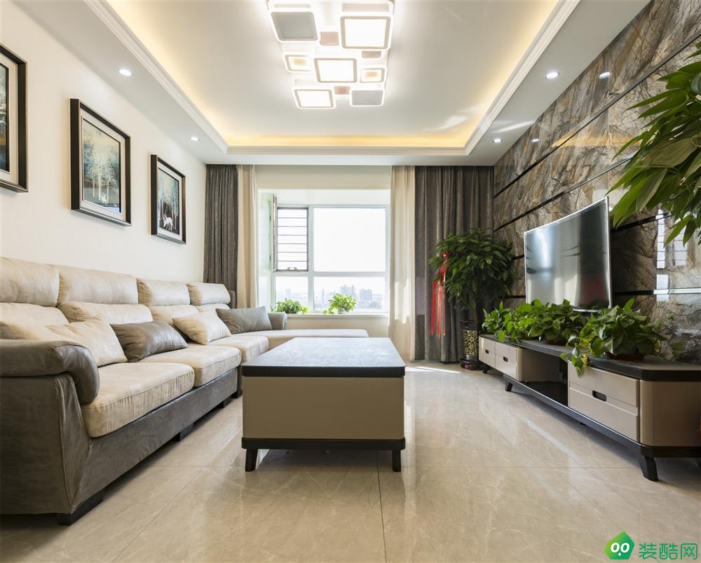烏魯木齊116平米現代風格三室兩廳裝修效果圖片