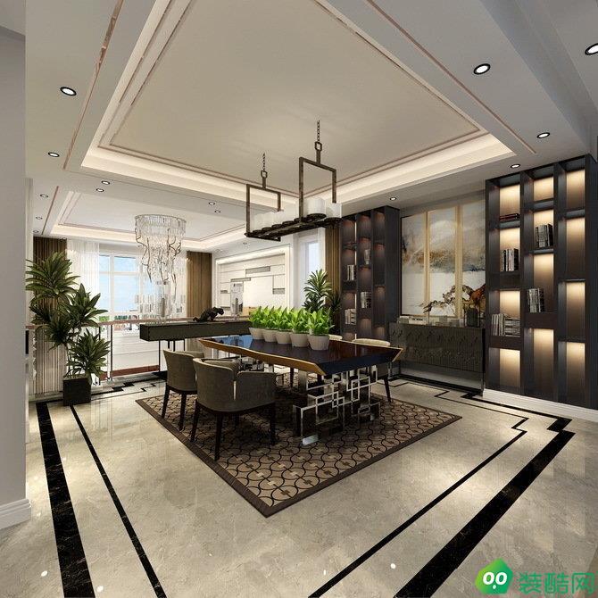 【創聯裝飾】蘇州銅雀臺300平獨棟別墅裝修案例