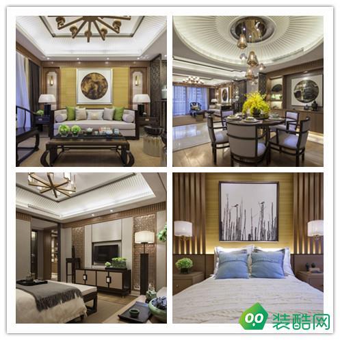 《米蘭天地裝飾》福星惠譽紅橋城117.47平中式風格
