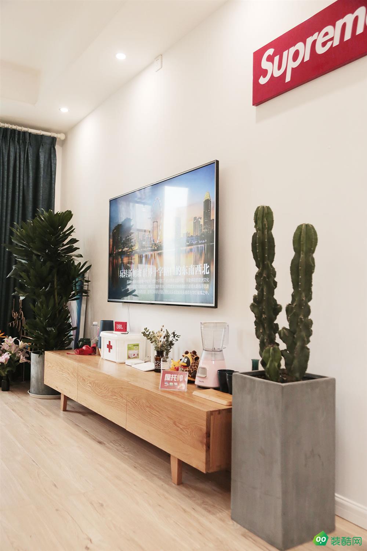 重慶77平米北歐風格兩居室裝修效果圖