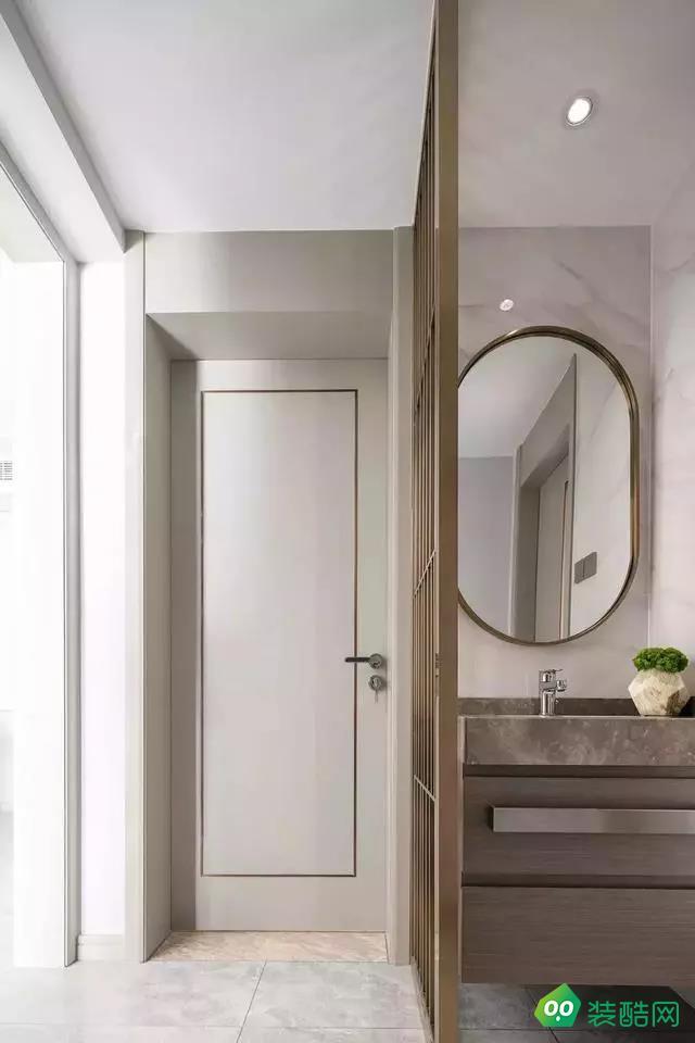 常州恒杨家装饰-130平方 轻奢现代风格装修效果图