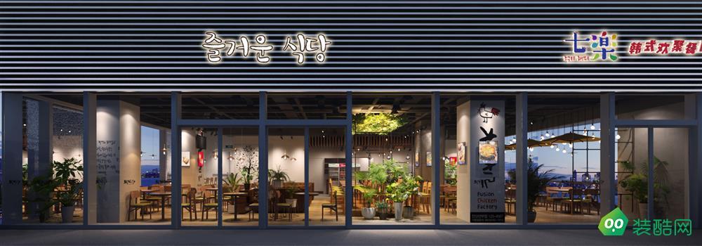 太原200平米餐廳裝修效果圖片