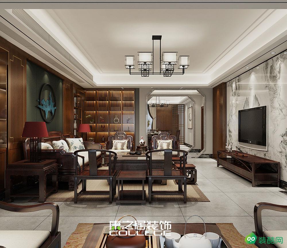 九頌山河174平四房中式裝修設計案例