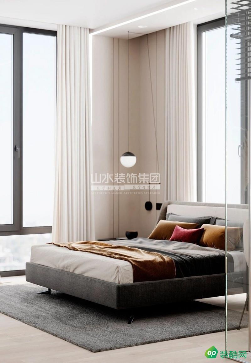 120㎡现代简约3居室,灯带点缀空间,营造轻松美好的小情调!