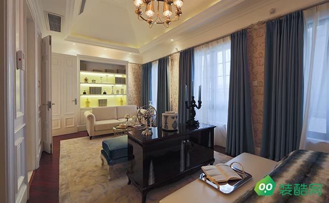 咸陽150平米歐式三室兩廳兩衛裝修效果圖片