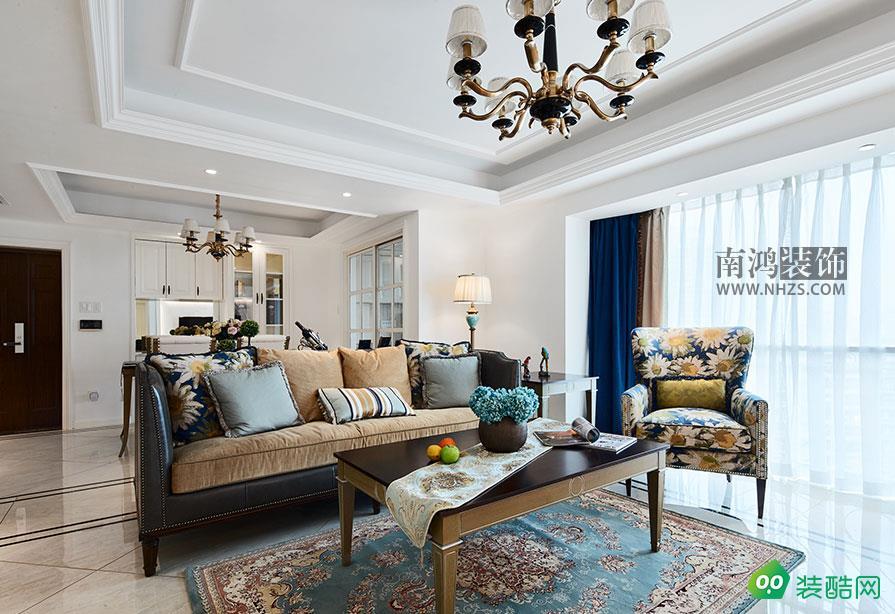 |南鴻裝飾|現代雅苑115方簡約美式風格