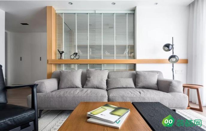 阜陽云水灣120三室北歐簡約風格裝修效果圖-佳管家裝飾