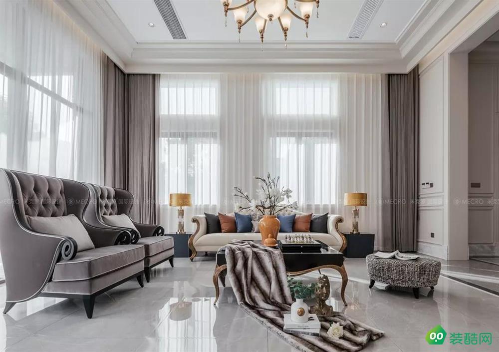 【實景】太湖高爾夫530㎡現代美式風格獨棟別墅