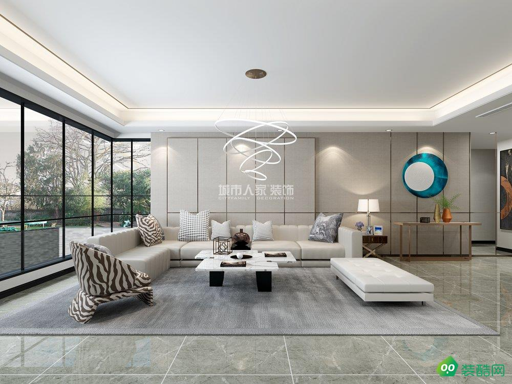 驪山下的院子240平米現代風格裝修案例分享