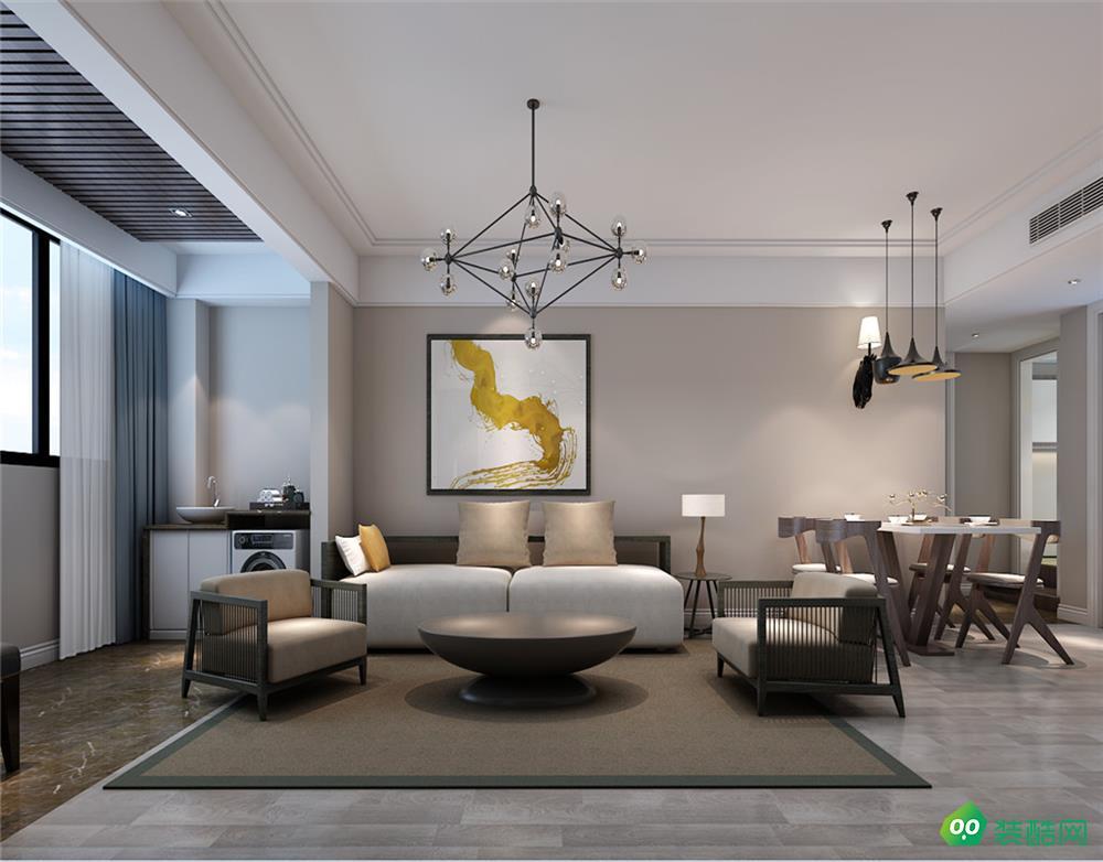 华冶翡翠湾、 现代、 120平米、四室两厅效果图