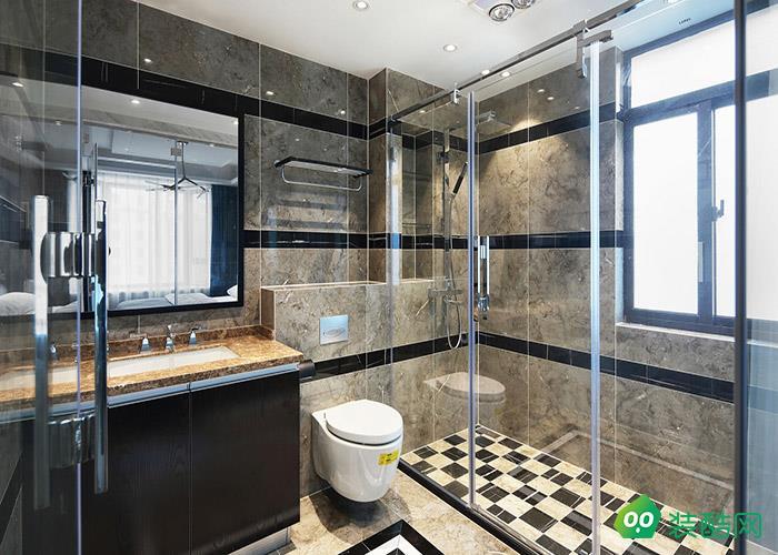 沈陽華潤·幸福里-120平米中式風格三室兩廳兩衛裝修效果圖
