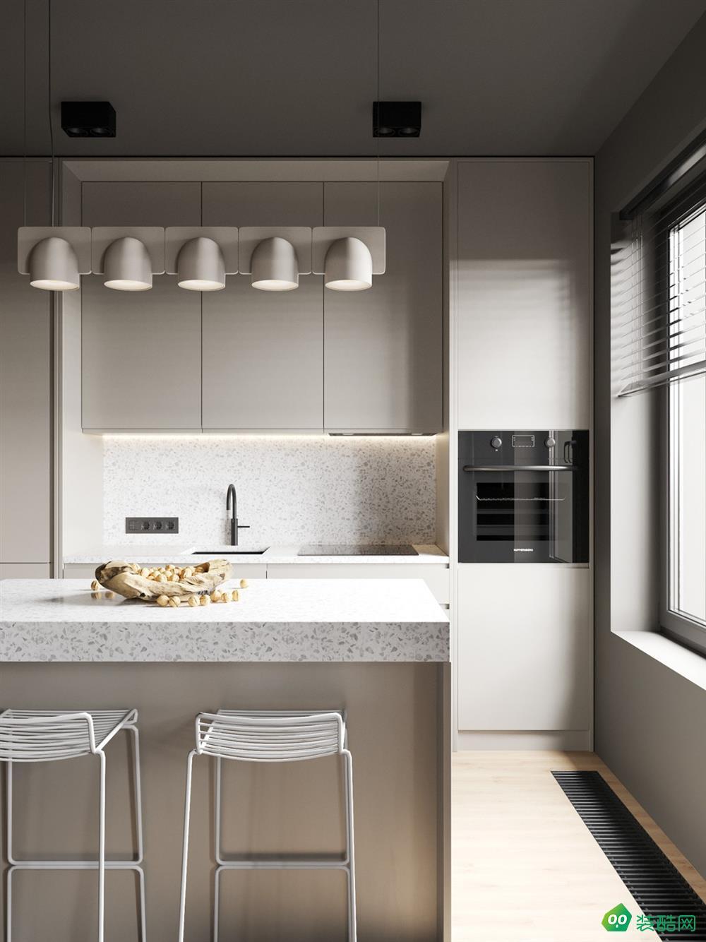 38.4平米單身公寓設計,干凈簡約高格調