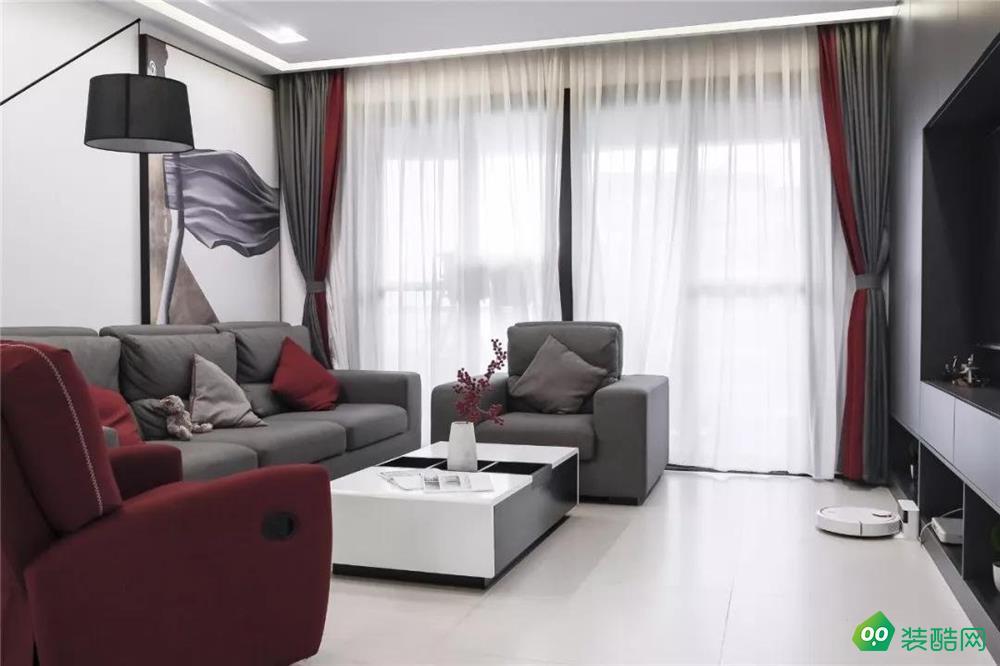 乌鲁木齐140平米四居室装修效果图