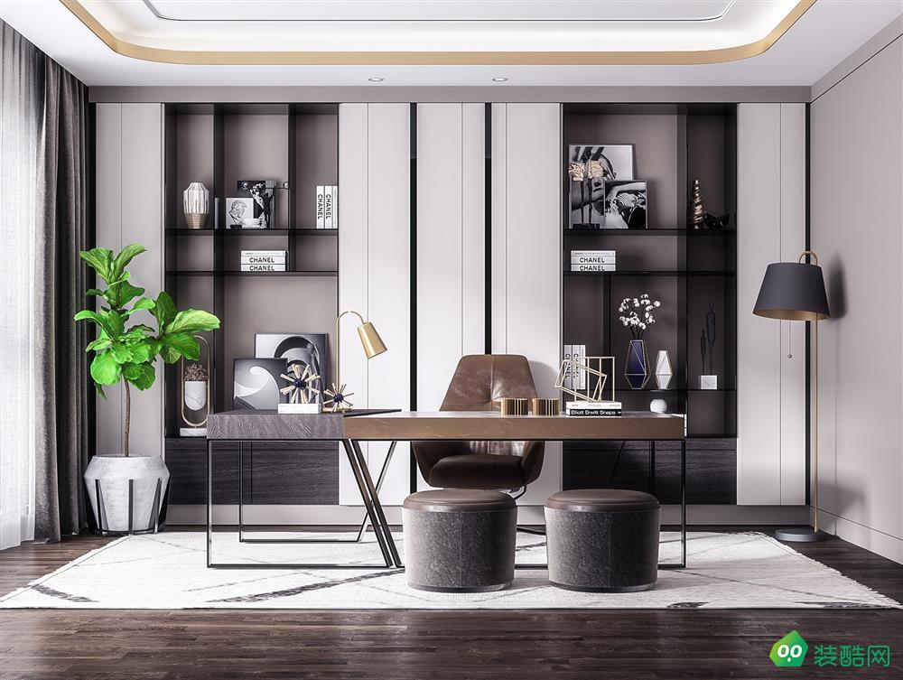 碧桂园银河城150平四室现代风格装修效果图