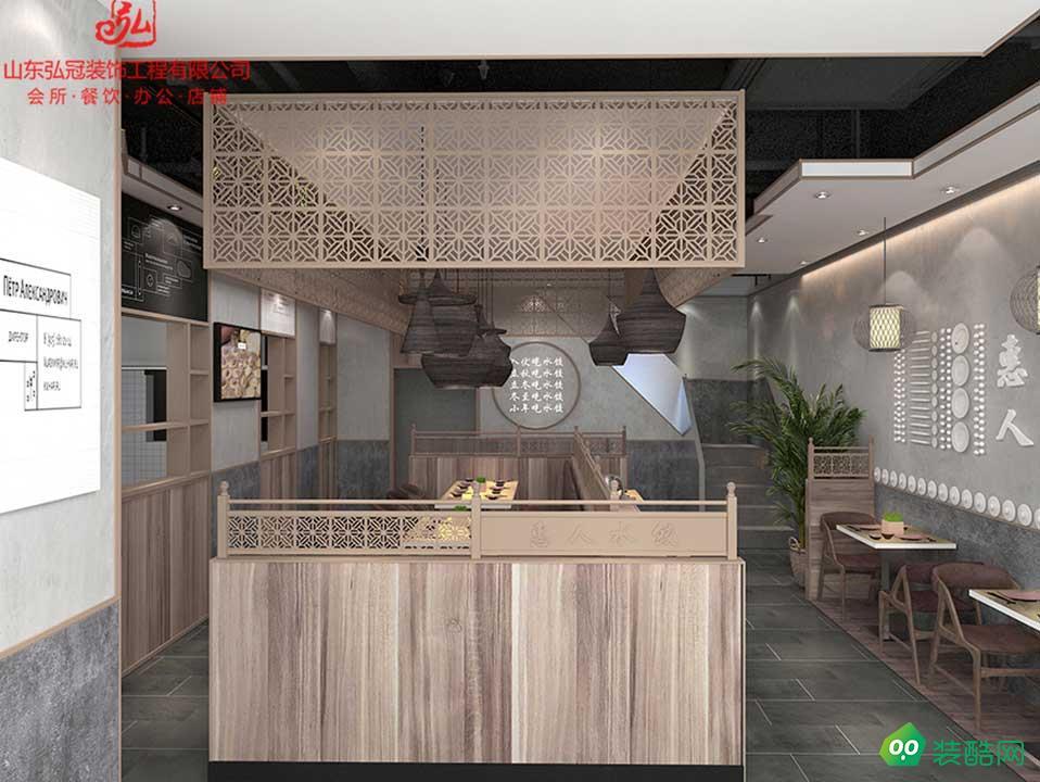 淄博專業餐廳店料理店火鍋店設計裝飾裝修公司