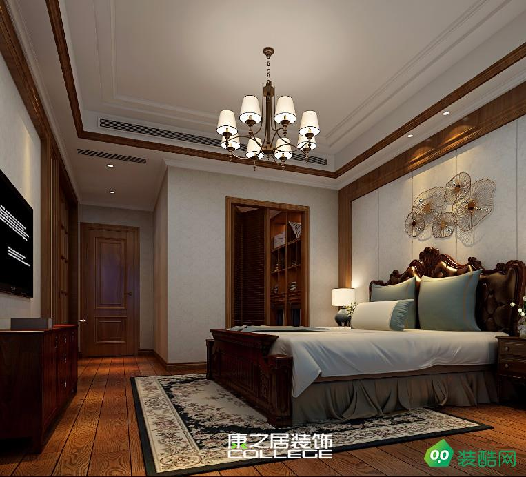 九龍湖花園復式家裝裝修設計歐式風格效果圖