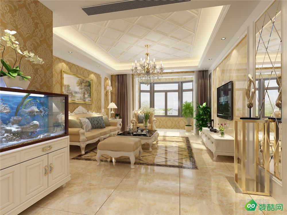 力天裝飾 香檳城 132平米 歐式風格