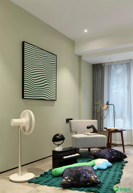 恒杨家装饰-160平方 现代风格装修效果图