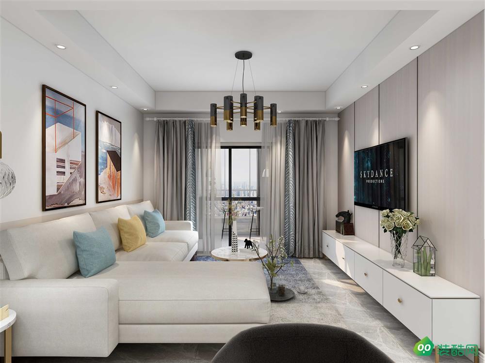 南充140平米现代简约风格四室两厅装修效果图