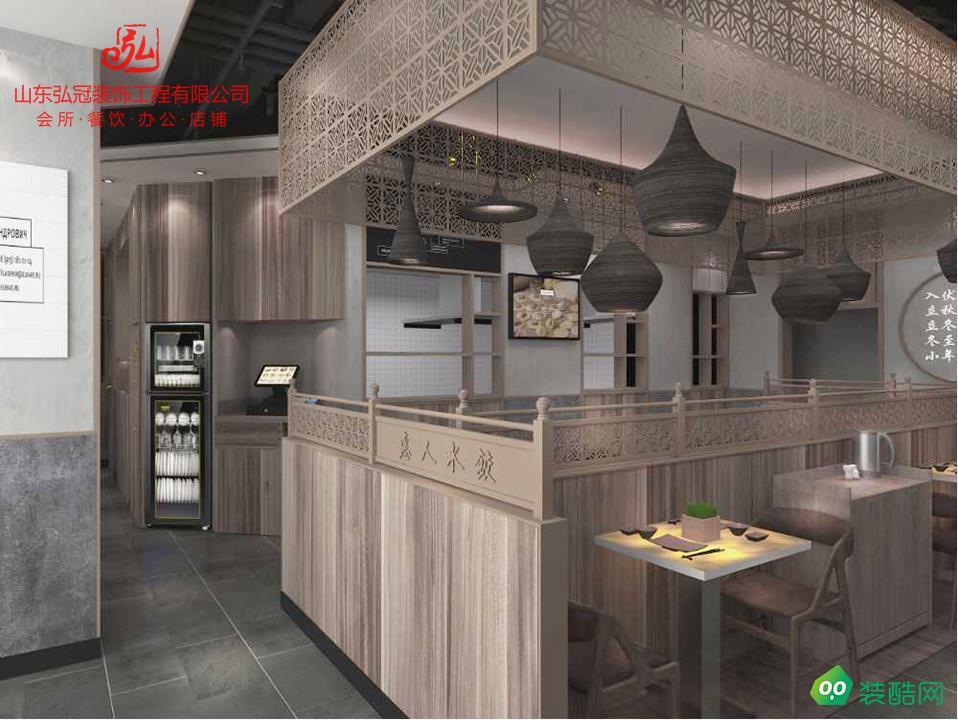 淄博店鋪設計門頭設計餐廳裝修設計公司