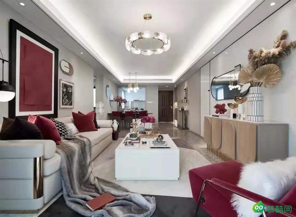 武漢菁英城-143平米古典風格四室兩廳兩衛裝修效果圖片