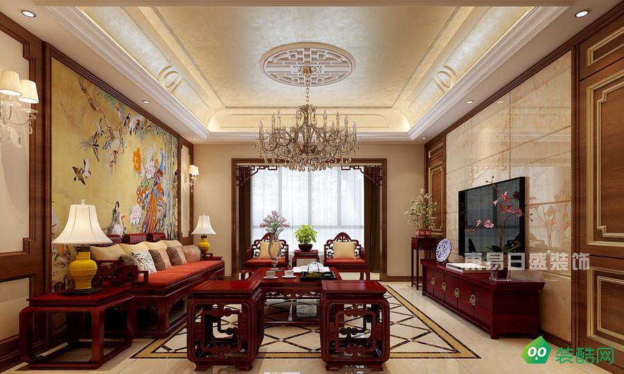 北京東易日盛裝飾-118平美式裝修案例效果圖