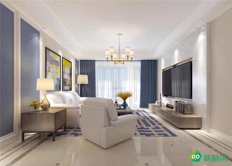 开封170平米现代风格四居室装修效果图片