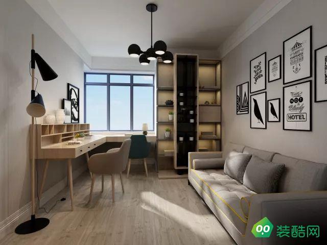 家設計 棗莊譽德華府 現代北歐風格 裝修設計方案鑒