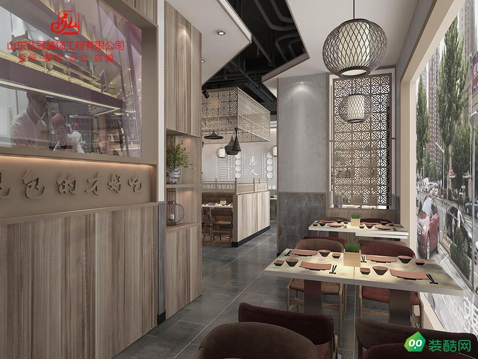 淄博打造人氣傳統特色餐飲裝修裝飾設計公司