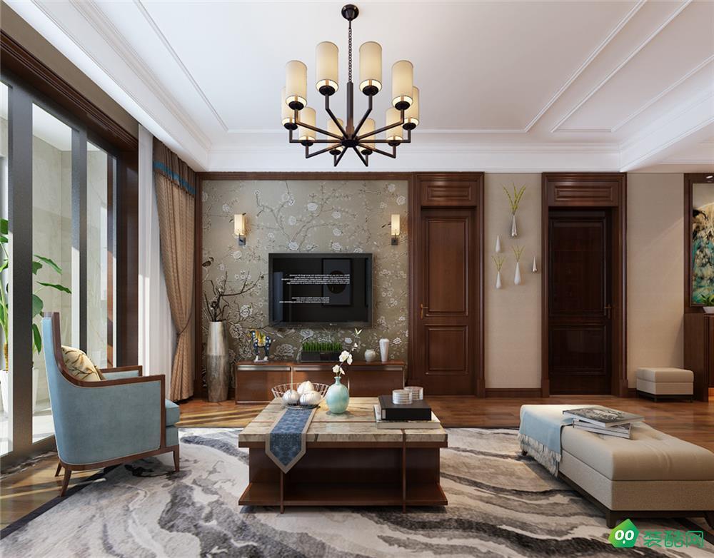和安家园、现代、140平米、四室两厅装修效果图