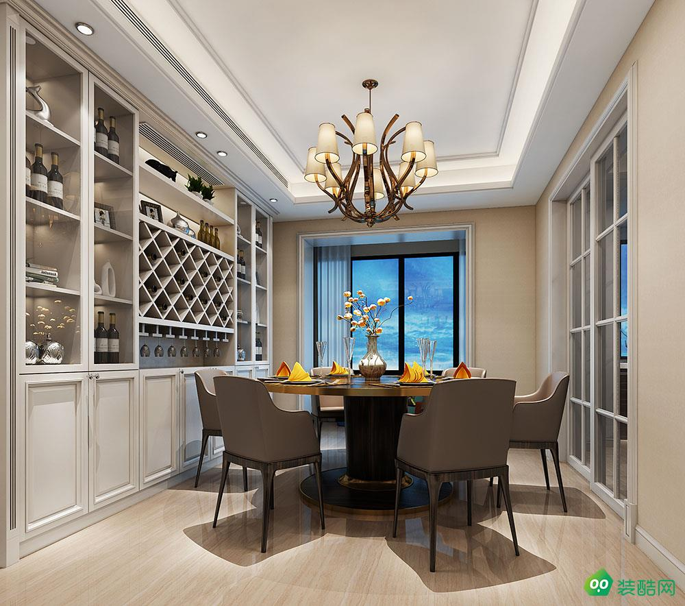 铜锣湾四房家装设计布置结构现代家居案例