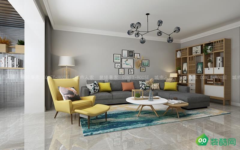 舊家翻新90平兩居室裝修花了10萬,北歐風格加上薄荷綠超純凈