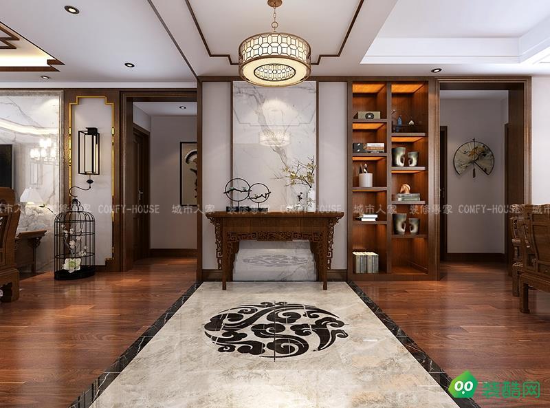 【中式家装永不过时】天一城158平装修设计,中式韵味全新演绎