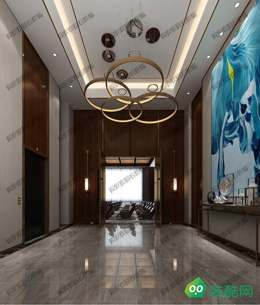 西安700平米酒店裝修效果圖片