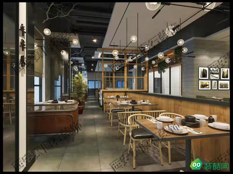 西安450平米餐廳裝修效果圖