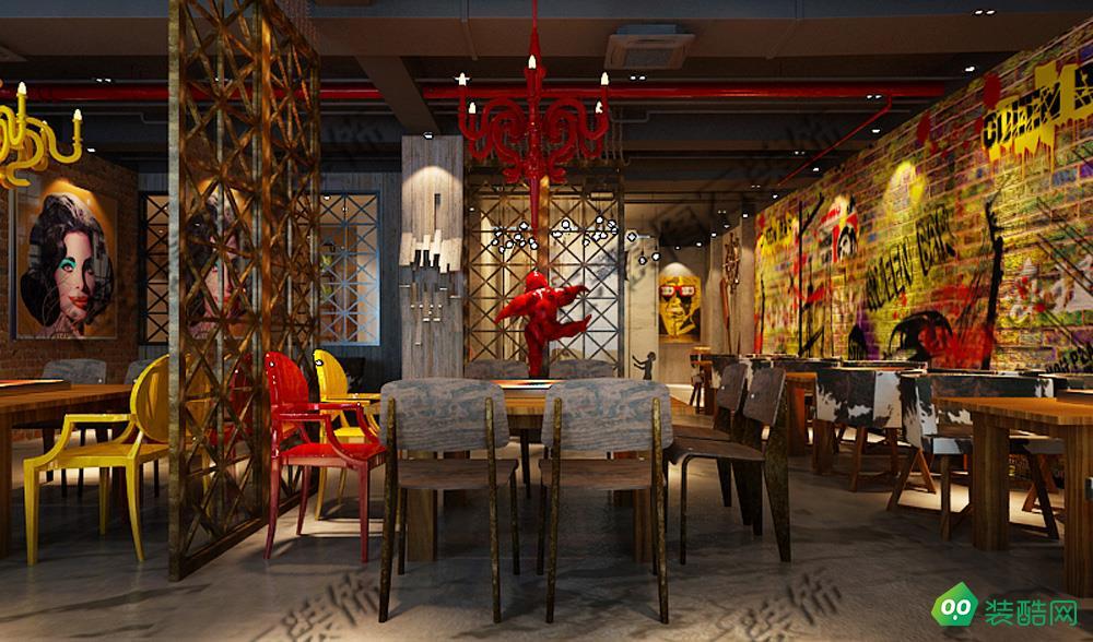 西安700平米餐廳裝修效果圖