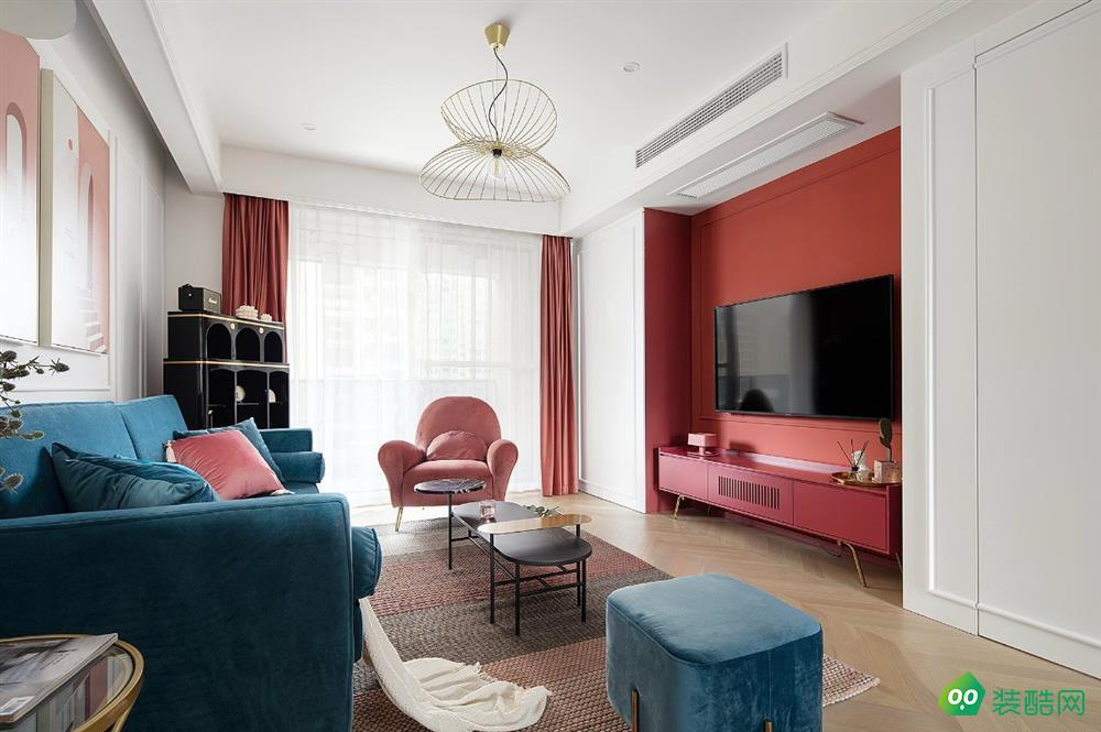 克拉瑪依128平米現代風格三居室裝修案例效果圖片