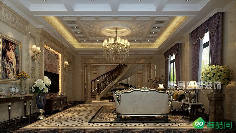 自建別墅240㎡奢華歐式