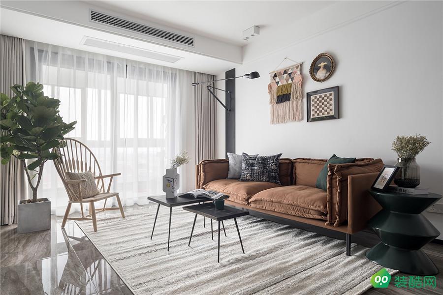 90平米三居室打造清新北歐風